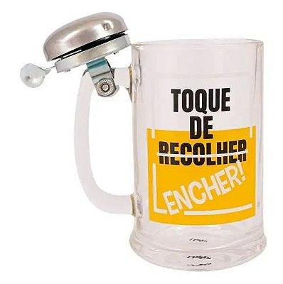 Caneco Cerveja 417ml - Toque de Recolher