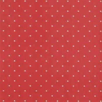 Folha de Scrapbook Estrela Grande Vermelha