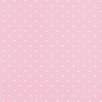 Folha de Scrapbook Estrela Grande Rosa