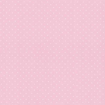 Folha de Scrapbook Estrela Pequena Rosa
