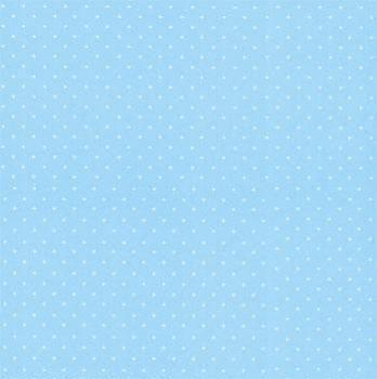 Folha de Scrapbook Estrela Pequena Azul Claro