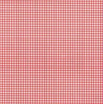 Folha de Scrapbook Quadriculada Vermelha