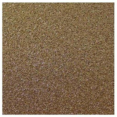 Folha de Scrapbook Puro Glitter Chocolate