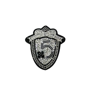 Patch Escudo 5 com Strass