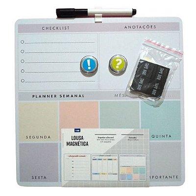 Lousa Magnética Planejamento Semanal e Checklist
