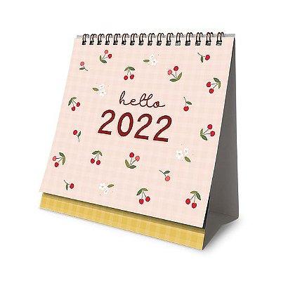 Calendário 2022 de Mesa