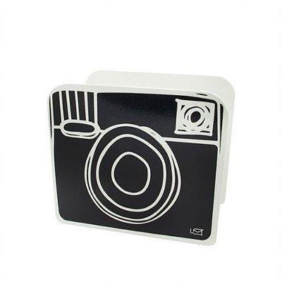 Porta Lápis Desenho Câmera Negativo