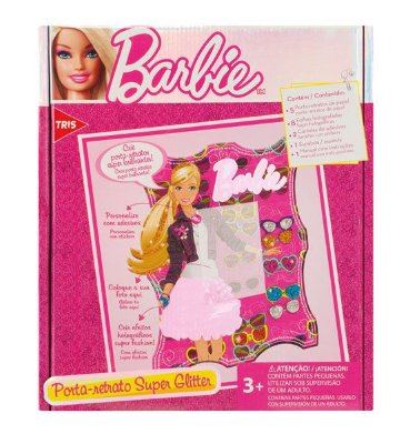 Conjunto Criativo Barbie Porta Retrato