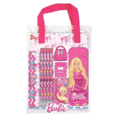 Conjunto Escolar da Barbie