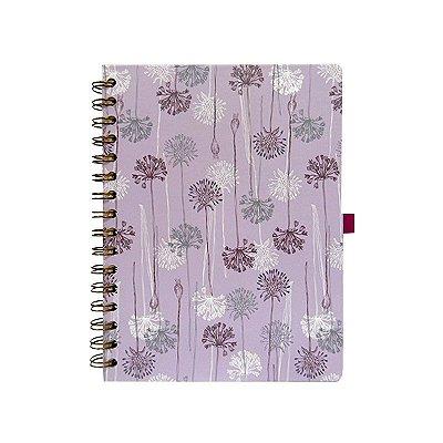 Caderno Pequeno Roxo Claro