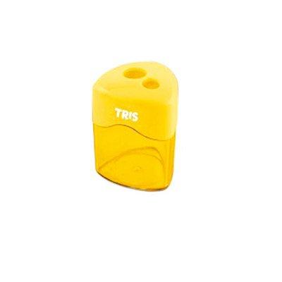 Apontador Duplo Com Depósito Amarelo