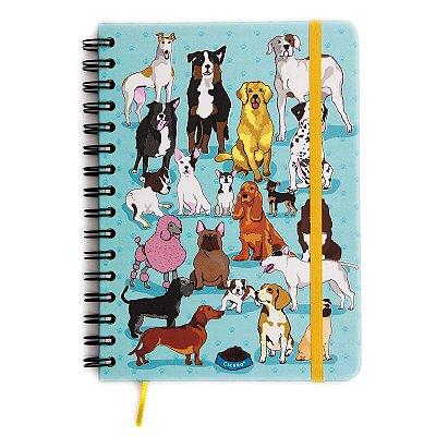 Caderninho Pautado Cãoleção