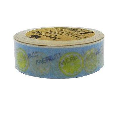 Fita Adesiva Washi Tape Limão
