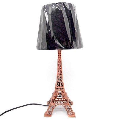 Luminária Torre Eiffel Cobre