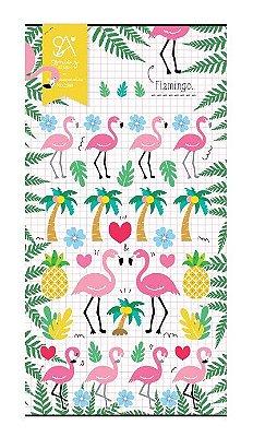 Adesivo Flamingos