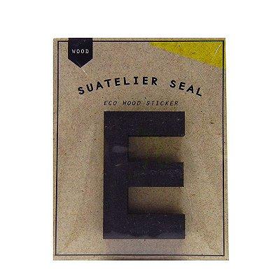 Adesivo Alfabeto Letra E