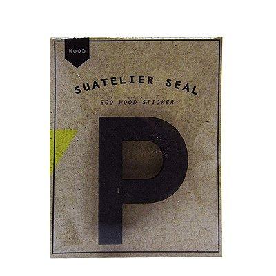 Adesivo Alfabeto Letra P