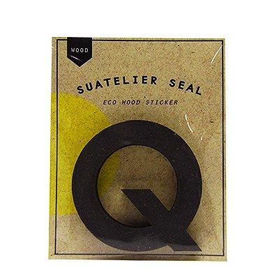Adesivo Alfabeto Letra Q