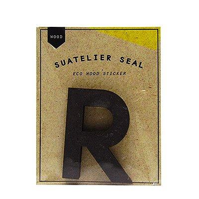 Adesivo Alfabeto Letra R