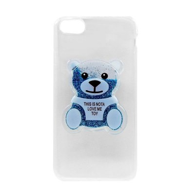 Capa Case Ursinho Azul- iPhone 7