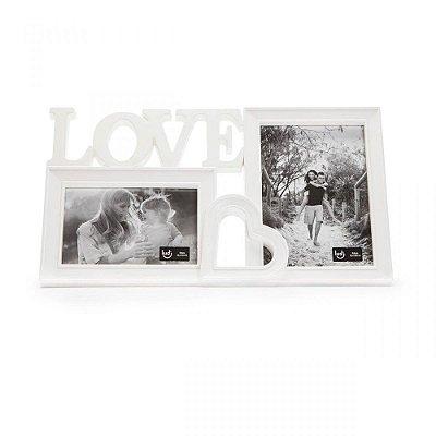 Porta Retrato Duplo Love