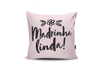 Almofada 40x40 Madrinha Linda