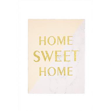 Quadro em Canvas Home Sweet Home