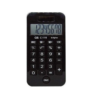 Calculadora de Bolso Preta