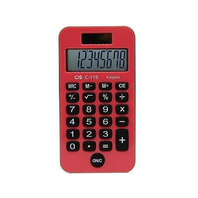 Calculadora de Bolso Rosa