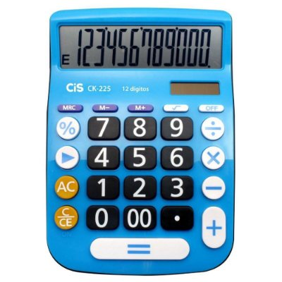 Calculadora de Mesa CK-225 12 Dígitos