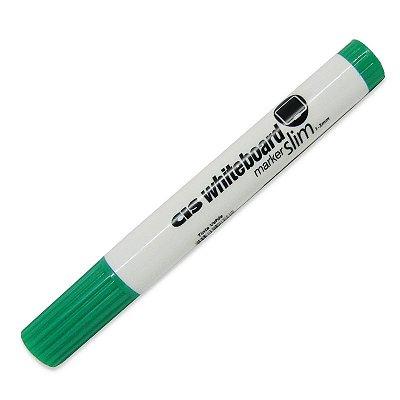 Caneta para Quadro Branco Slim Verde