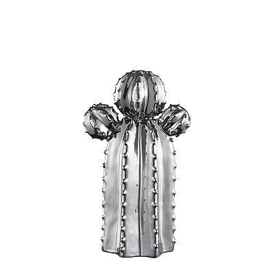 Cacto em Cerâmica Prata P