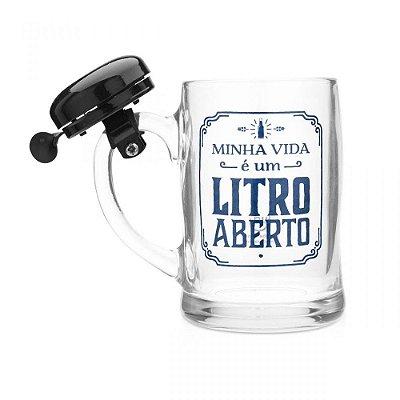 Caneco Campainha - Litro Aberto