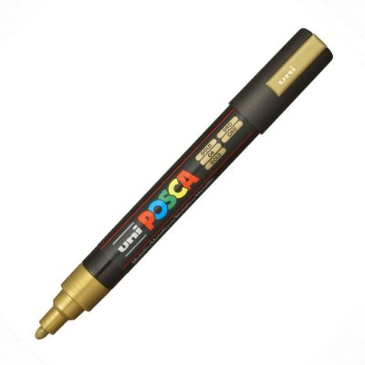 Caneta Posca - PC-5M - Dourado