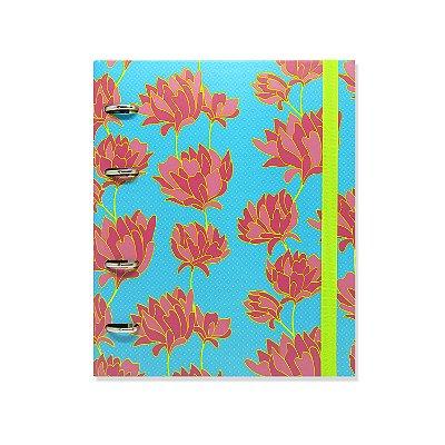 Caderno Fichário Belle Azul