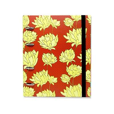 Caderno Fichário Belle Vermelho