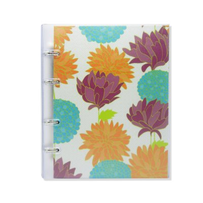 Caderno Fichário PVC Belle Branco