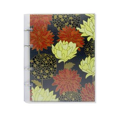 Caderno Fichário PVC Belle Preto
