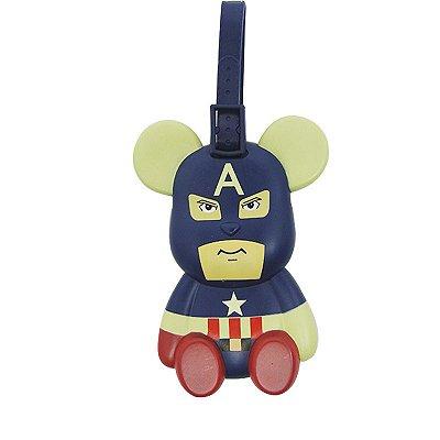 Identificador de Mala Ursinho Capitão América