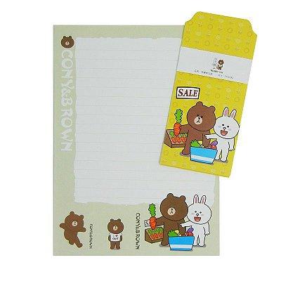 Papel de Carta Ursinhos