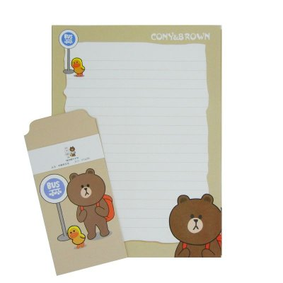 Papel de Carta Urso