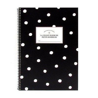 Caderno Espiral de Bolinha