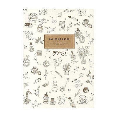 Caderno Brochura com Pauta Desenhos