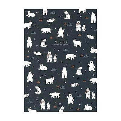 Caderno Brochura Com Pauta Urso