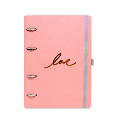 Planner Organizador - Love Rosa