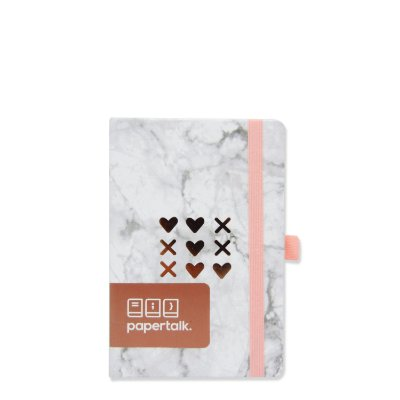 Caderninho Papertalk Love Marmorizado