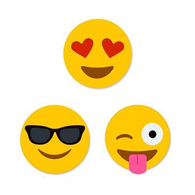 Ímã Magnético Emoji