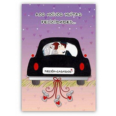 Cartão Casamento Recém-Casados Pequeno