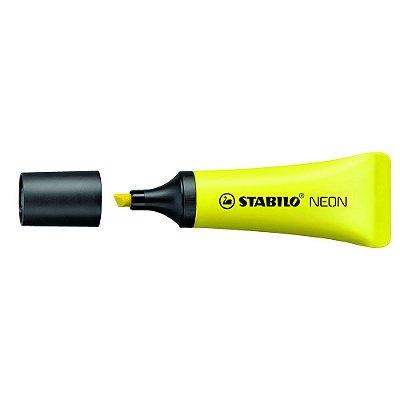 Marca Texto Bisnaga Amarelo Neon