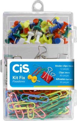 Kit Clips Fixador